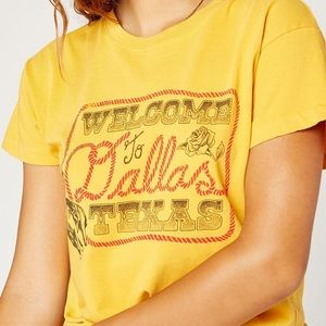 DAYDREAMER  Welcome To Dallas Texas Graphic Tee